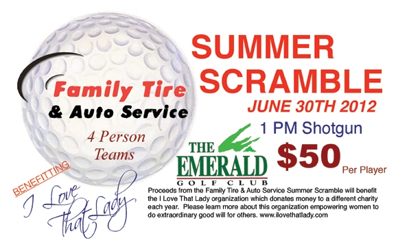 Summer Scramble Golf Tournament