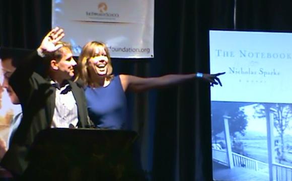 Nicholas Sparks in New Bern, NC