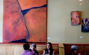 michaele rose watson artwork at mjs raw bar
