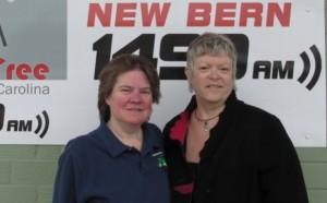 Laura Johnson and Janet Francoeur