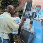 Lee Hood, en plein air painter in New Bern.