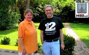 Laura Johnson and Alan Berger