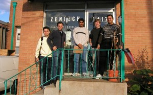 Graduate Students at Zentech