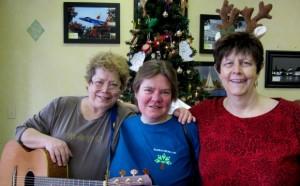 Bobbi Waters, Laura Johnson, and Jean Kenefick