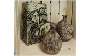 Pottery by local artist, Chris Mathiot, will be featured at the open house, along with pottery by up to twenty three members.
