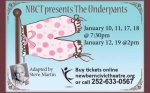 underpants new bern civic theatre