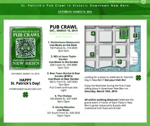 New Bern Pub Crawl