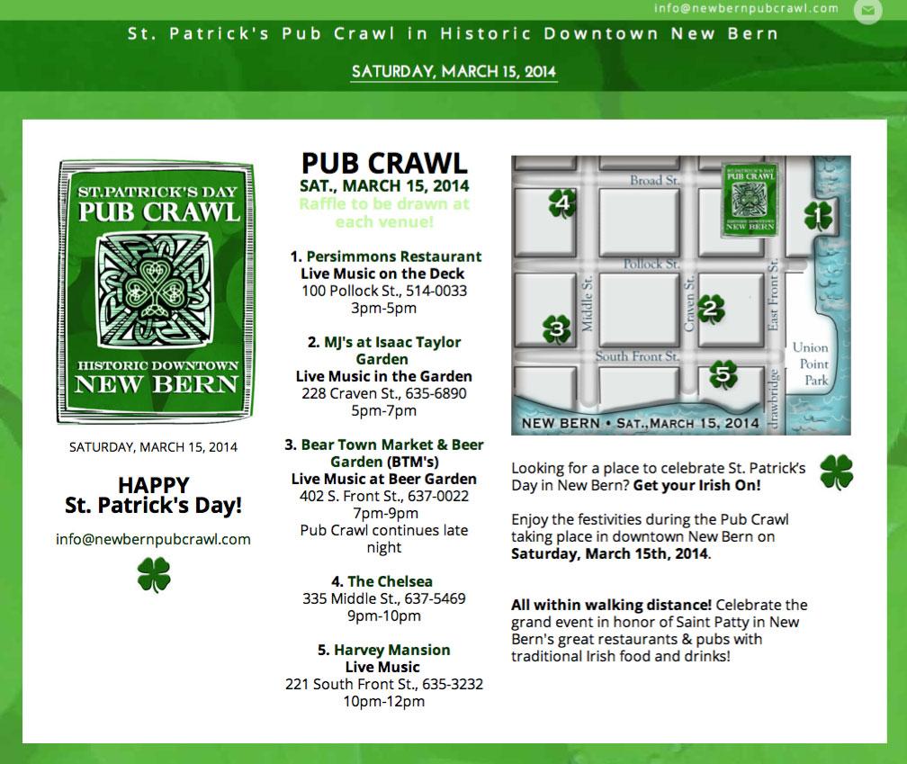 New Bern Pub Crawl