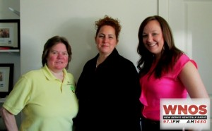 Laura Johnson, Meg Mooney, and Erin Bright