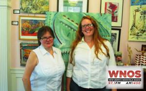Laura Johnson and Meg Wethington