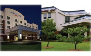 SpringHill Suites and Hampton Inn