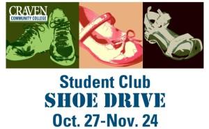 Craven Community College Shoe Drive