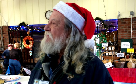 Santa at The Market
