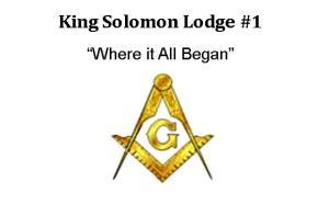 King Solomon Lodge #1