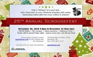 25th Annual Scroogefest