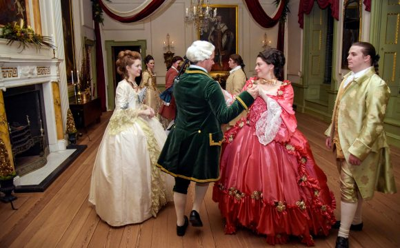 Tryon Palace Candlelight Dancers