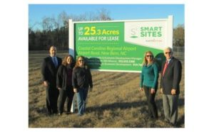 Smart Site at Coastal Carolina Regional Airport