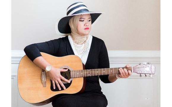 Musician Magfirah Dahlan