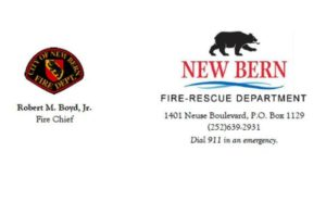 New Bern Fire-Rescue Division Chief Jim McConnell