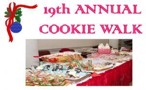 19th Annual Cookie Walk
