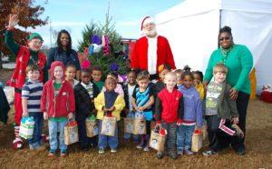 Christmas tree and wreath sale