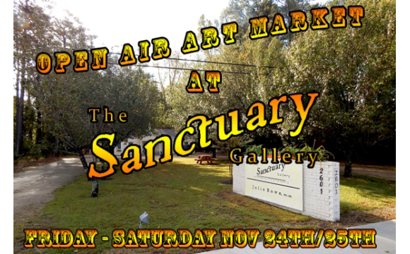 Open Air Market at Sanctuary Gallery
