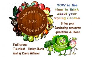 February Roundtable for Gardeners