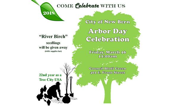 Arbor Day New Bern