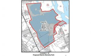 Proposed Martin Marietta Park