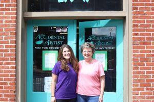 Audra Schaefer and Mable Doughty - Accidental Artist