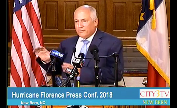 Press Conference Hurricane Florence