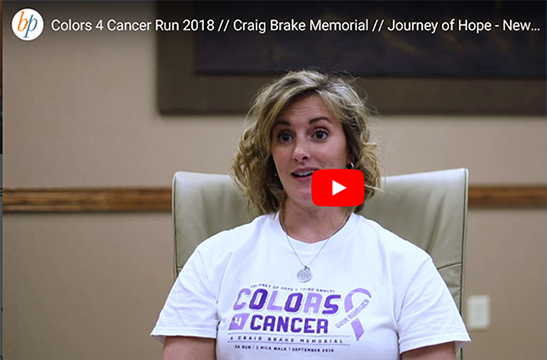 Colors 4 Cancer - Craig Brake Memorial Run