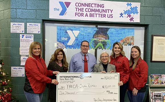 Twin Rivers YMCA International Paper Grant