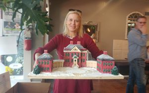 Gingerbread House Art Auction