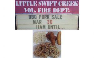 BBQ Pork Sale - Little Swift Creek Vol Fire Dept