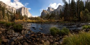 Majestic Yosemite Canyon by Tom McCabe