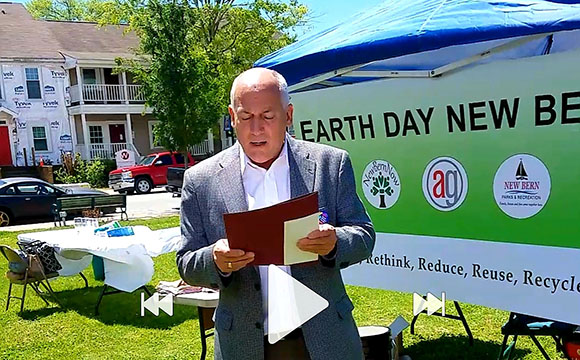 Mayor Dana Outlaw - Earth Day Proclamation