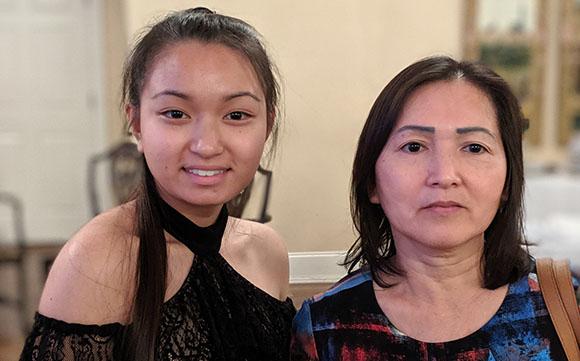 Kimberly Tran and Suong Tran