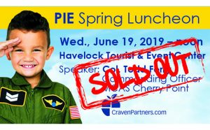 PIE Spsring Luncheon 2019 - Sold Out