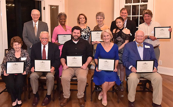 New Bern Historical Society Annual Awards