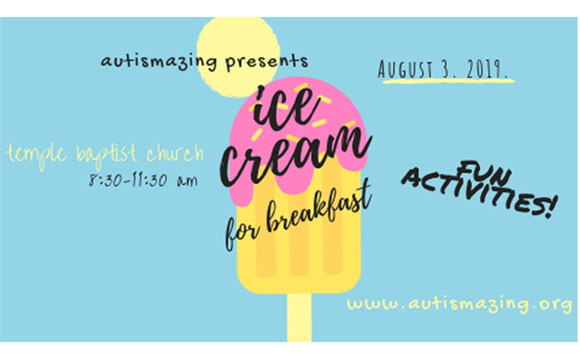 Austismazing Ice Cream for Breakfast
