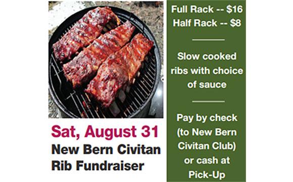 New Bern Civitan BBQ Rib Fundraiser