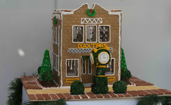 Baxterss Jewelers Gingerbread House