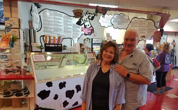 Mildred and Jim Green - Cow Cafe