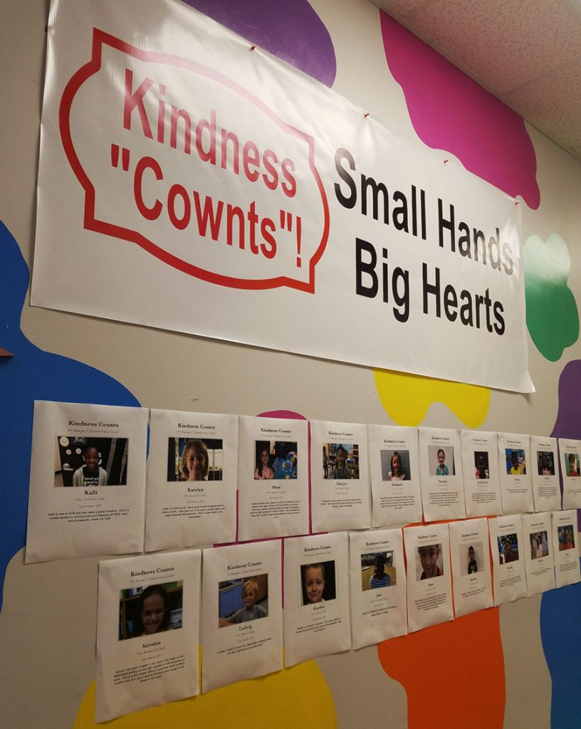 Kindness Cownts Wall
