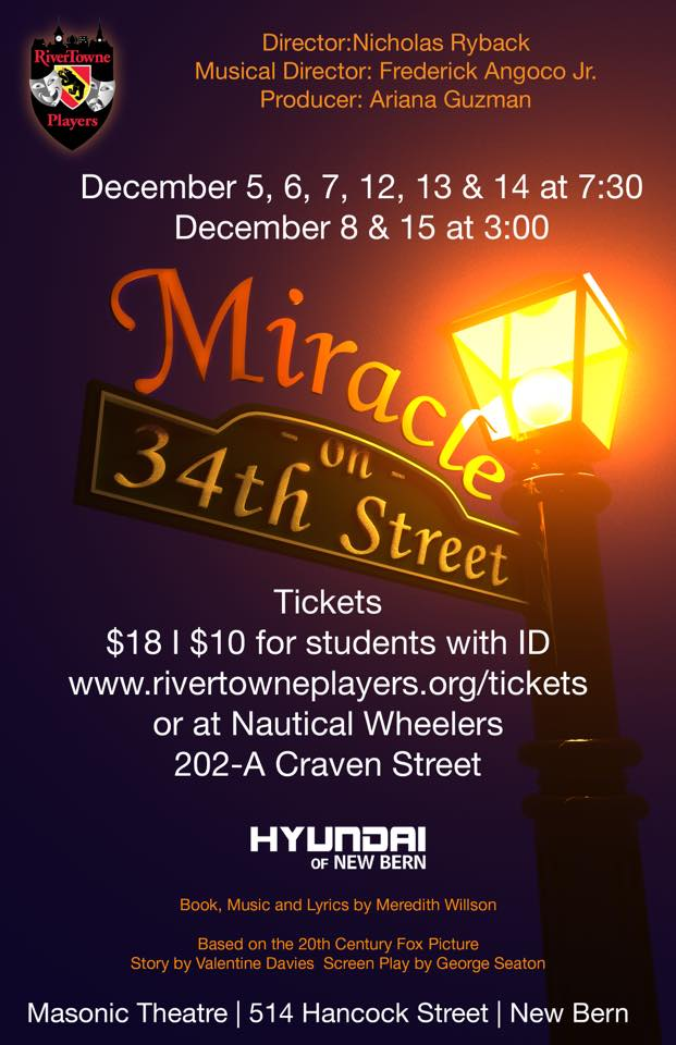Miracle on 34th Street Production