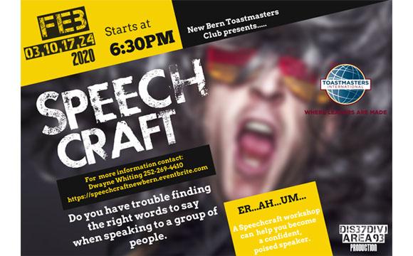 Speech Craft - New Bern Toastmasters