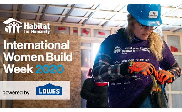 International Women's Build New Bern