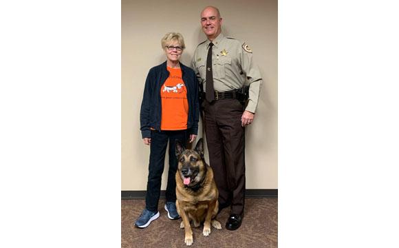 Sheriff Hughes, Jeanne Crockett, and Ringo