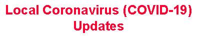 Local Coronavirus Updates